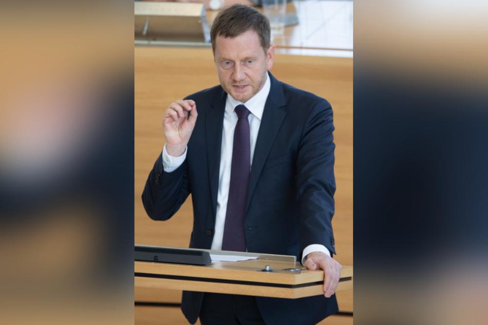 Ministerpräsident Michael Kretschmer (46, CDU) steht zu seinem Innenminister. Bis zum nächsten Skandal - und dann?