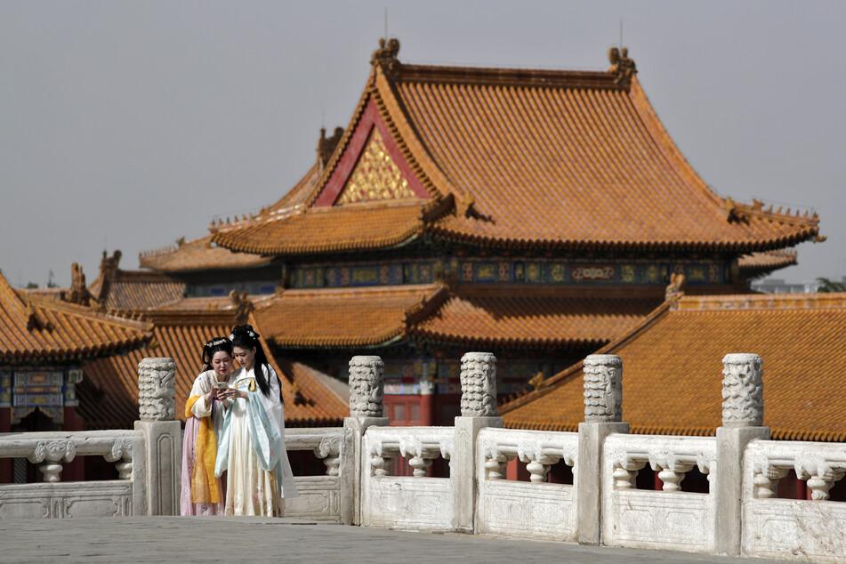 Die verbotene Stadt in Peking. Touristenmagnet und Heimat vieler historischer Kunstschätze.