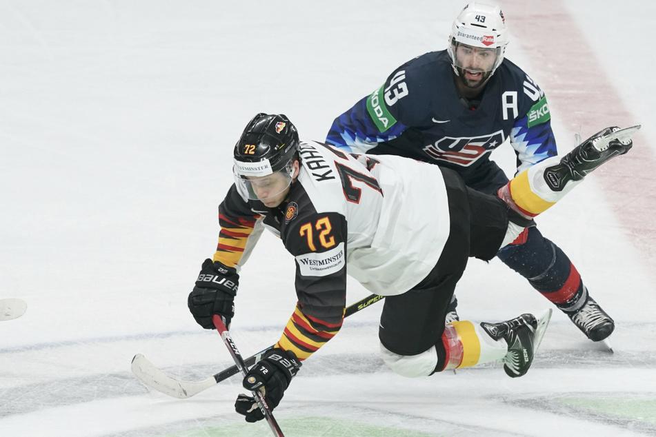 Das deutsche Eishockey-Team fiel gegen die USA kräftig auf die Schnauze.