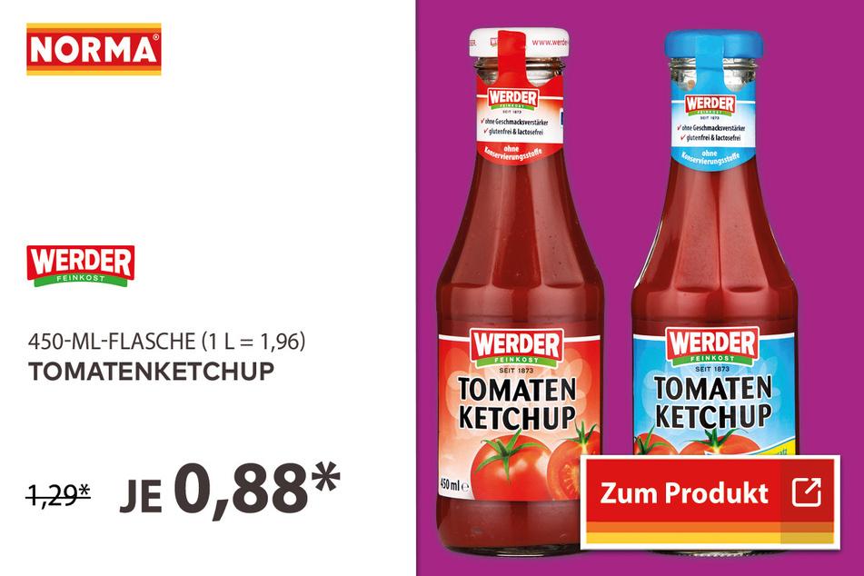 Tomatenketchup für 0,88 Euro
