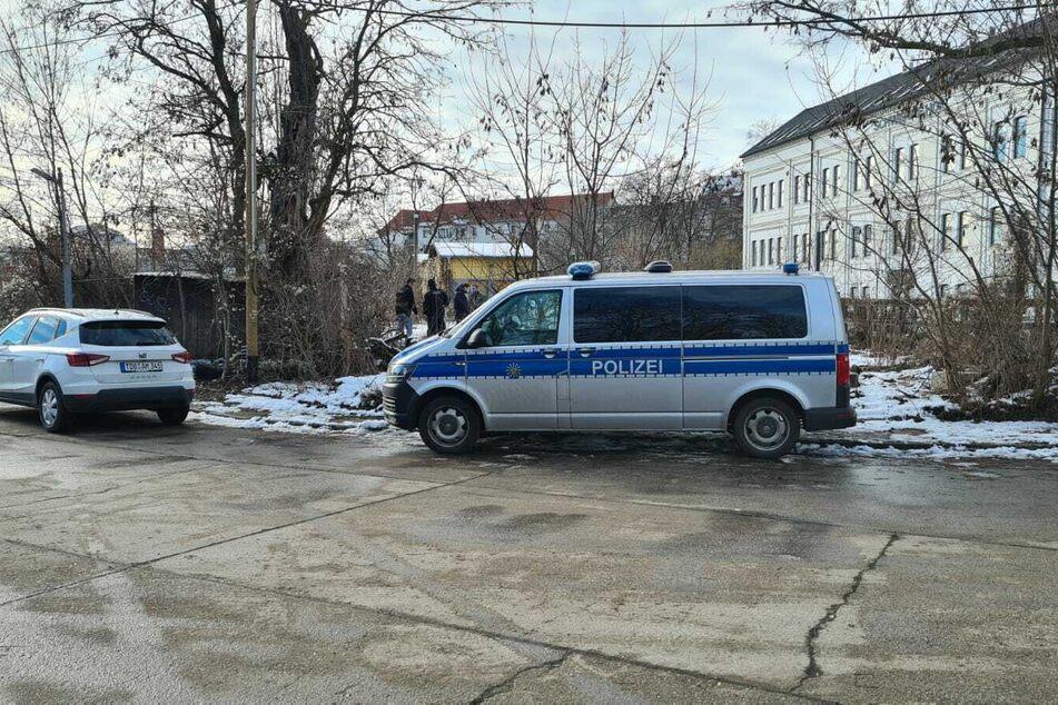 Polizei und Kripo waren vor Ort.