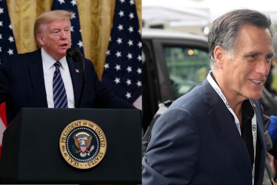 """""""Nicht der klügste Kerl im Raum"""": Mitt Romney teilt gegen Trump aus"""