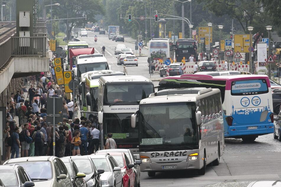Reisen mit dem Fernbus werden auch in Dresden beliebter, vor allem solche innerhalb Sachsens.