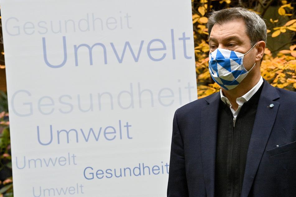 Markus Söder (CSU), Ministerpräsident von Bayern.