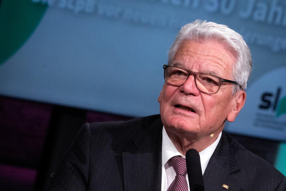 Der ehemalige Bundespräsident Joachim Gauck (81).