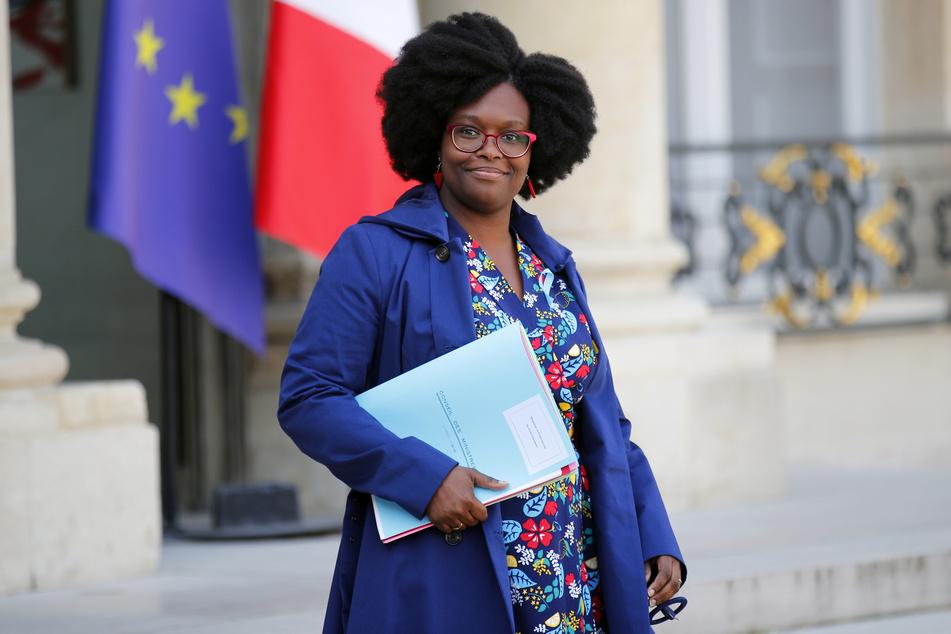 Sibeth Ndiaye (40), Frankreichs Regierungssprecherin.