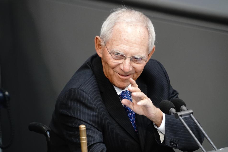 Bundestagspräsident Wolfgang Schäuble (77, CDU).