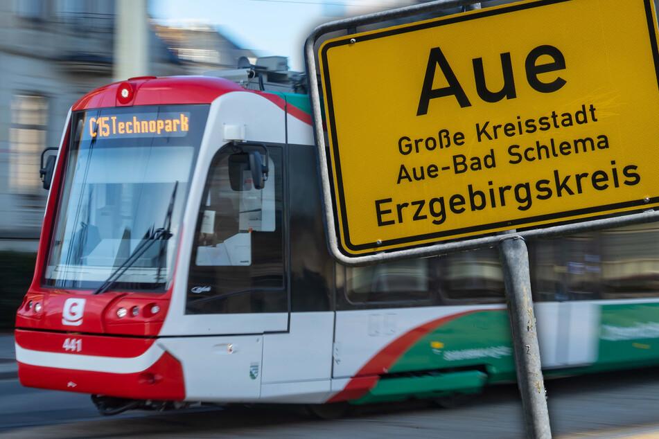 Schon bald sollen die ersten Citybahnen von Chemnitz nach Aue düsen.