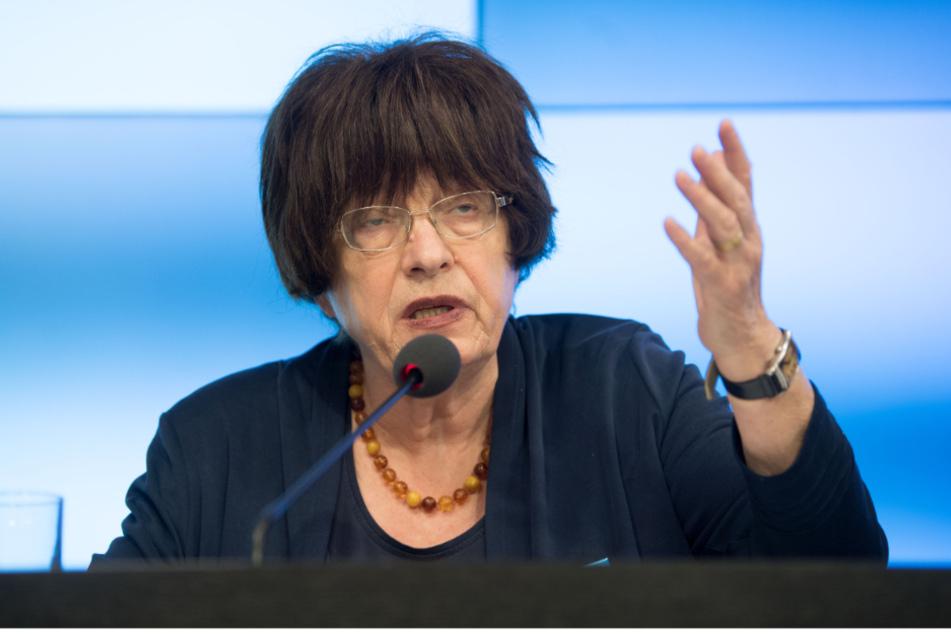 Gisela Erler (74, Grüne), die baden-württembergische Staatsrätin für Zivilgesellschaft und Bürgerbeteiligung.