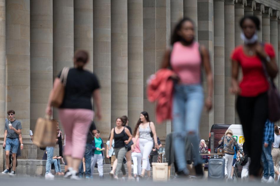 Mehr als 33 Prozent der Menschen in Baden-Württemberg (im Bild: Die Stuttgarter Innenstadt) haben einen Migrationshintergrund.