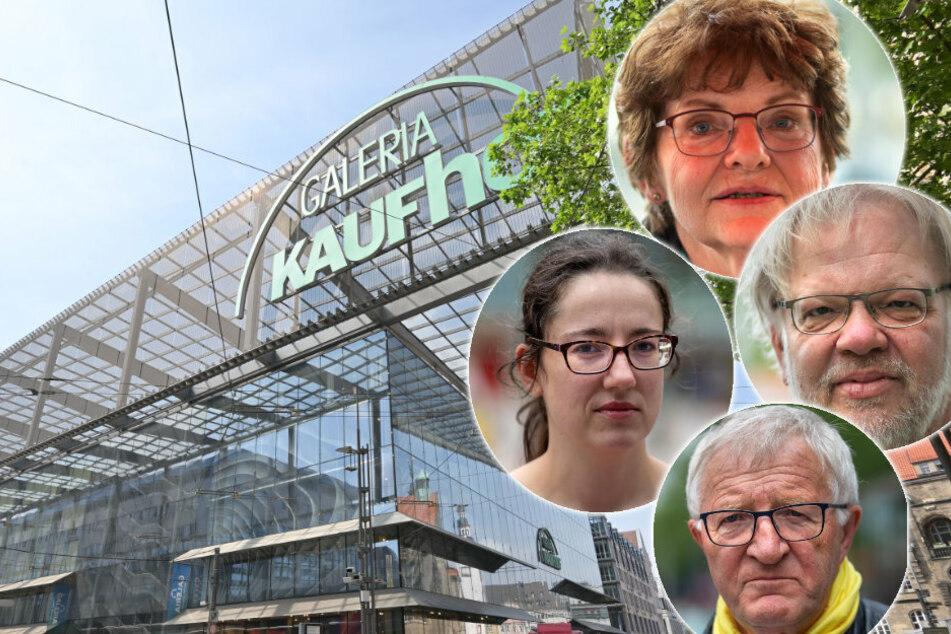 Das sagen die Chemnitzer zum Kaufhof-Aus