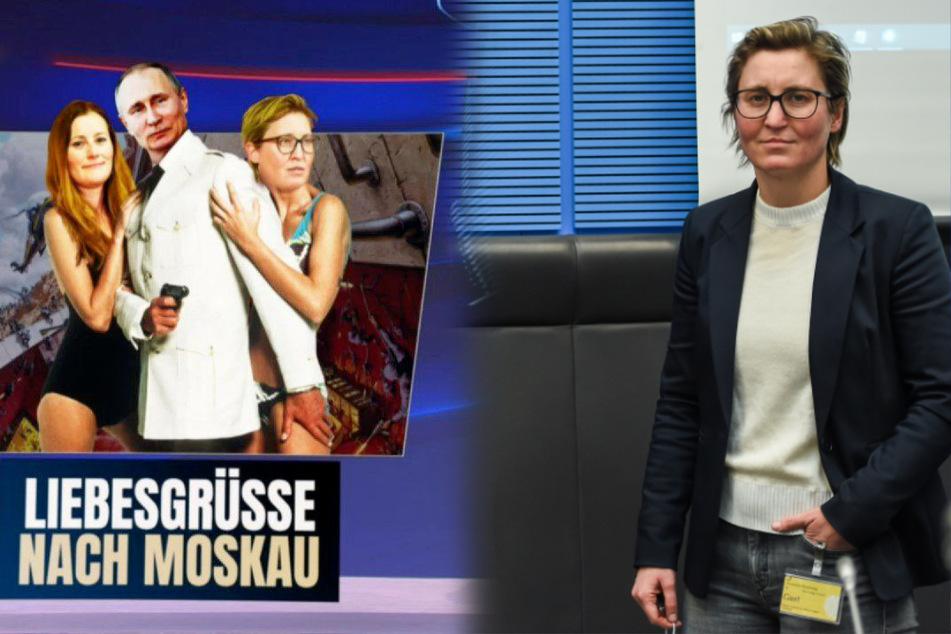 "Linken-Chefinnen als Bondgirls: Hennig-Wellsow irritiert über ""heute-show"""