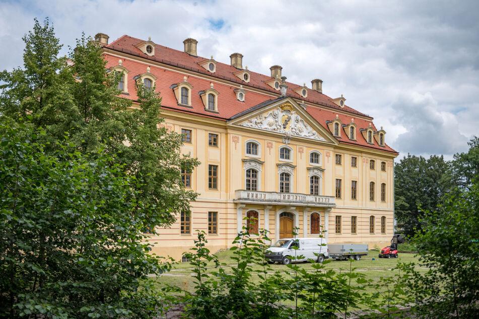 Das Wachauer Barockschloss spielt in einer Liga mit den Schlössern in Rammenau und Moritzburg.