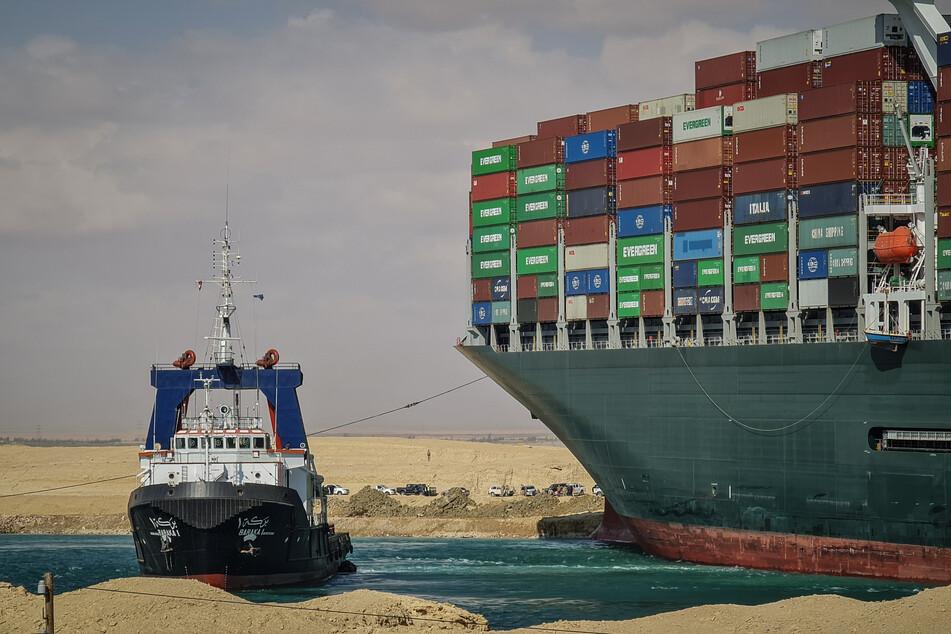 Der Vorfall im Suezkanal Ende März hatte zu einer Blockade der wichtigen Schifffahrtsstraße zwischen Asien und Europa geführt