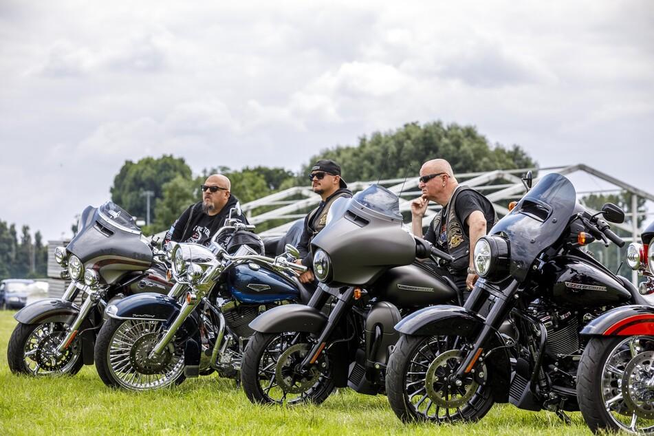 Viele Harley-Fans werden am Wochenende in der Rinne Dresden zeigen, mit welchen Bikes sie am liebsten unterwegs sind.
