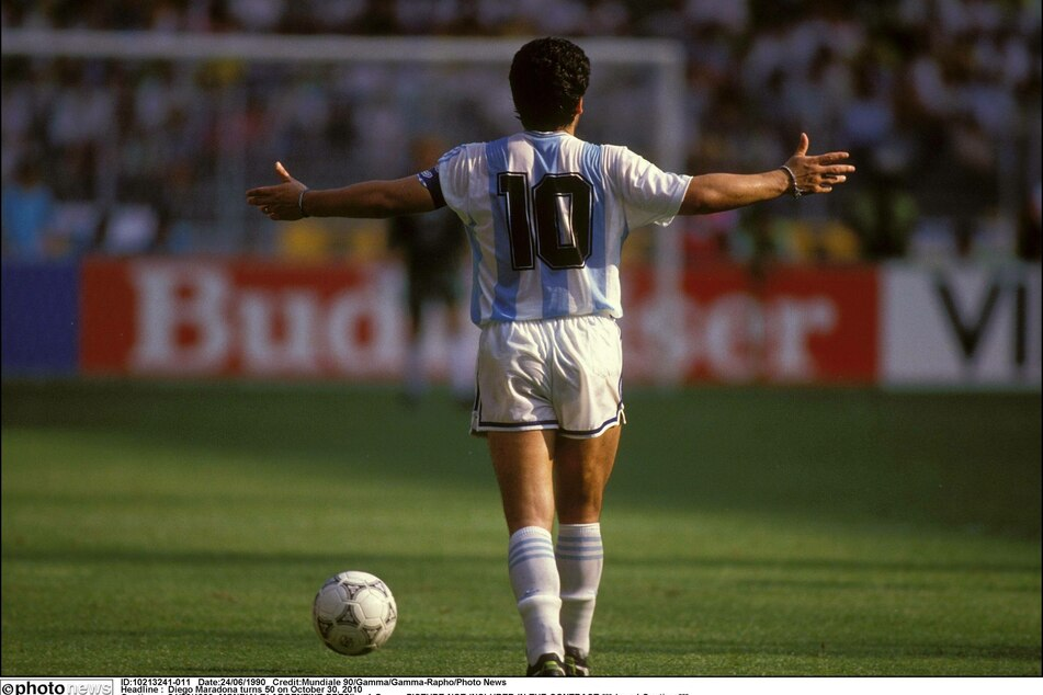 Diego Maradona is widely considered one of the greatest ever to play the game.