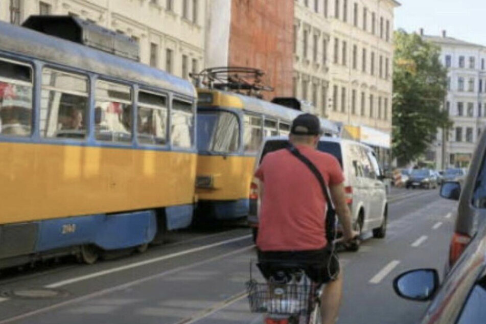 Die Jahnallee gilt als Unfallschwerpunkt in Leipzig.
