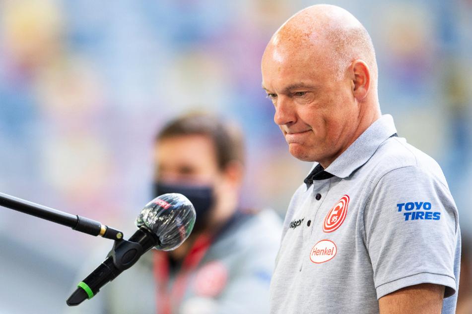 Fortuna-Coach Uwe Rösler bemängelte die fehlende Frische seiner Mannschaft nach dem 1:1 gegen den FC Augsburg.