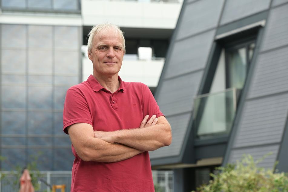 Stadtrat Bernhard Herrmann (55, Grüne) goss die Anwohner-Idee in einen Beschluss-Vorschlag.