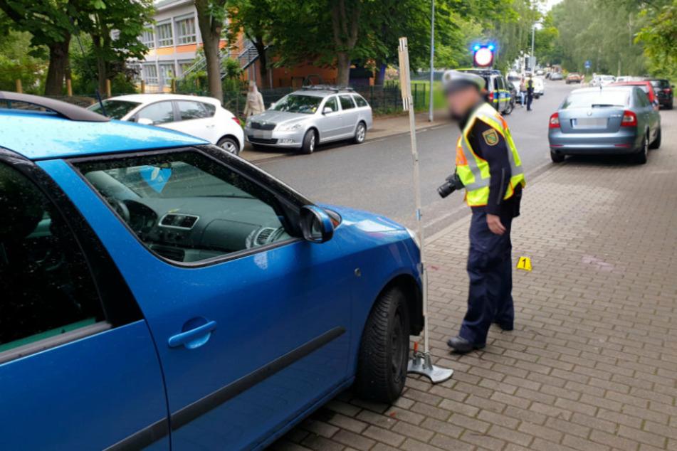 Tragischer Unfall in Chemnitz: Kind (5) wird von Auto erfasst und schwer verletzt