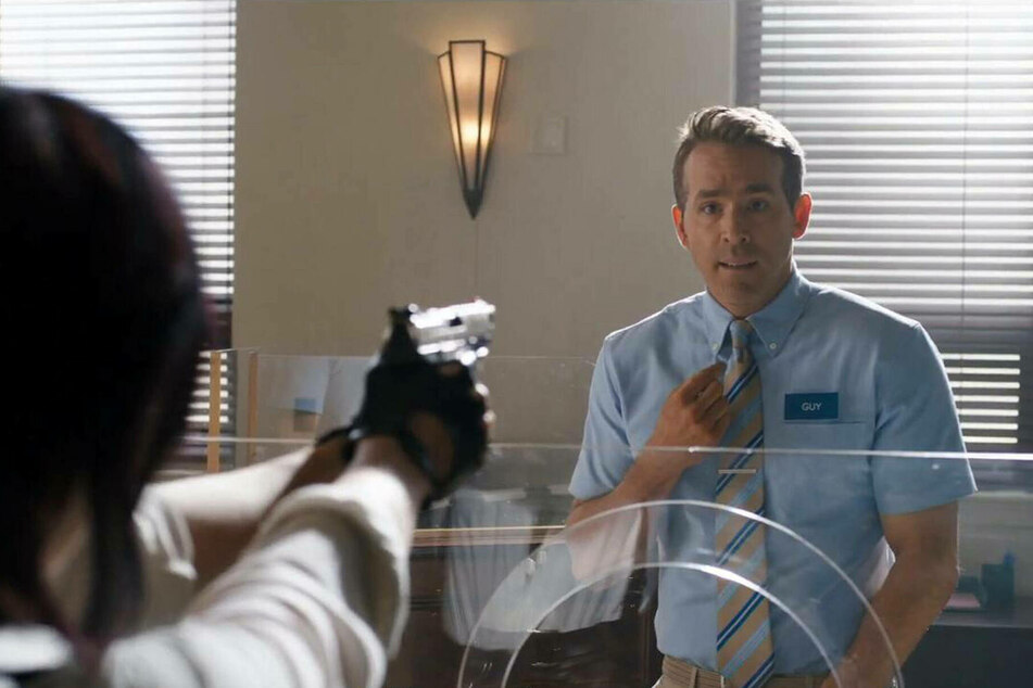 Ryan Reynolds stars as Guy in Free Guy which premieres on August 13.