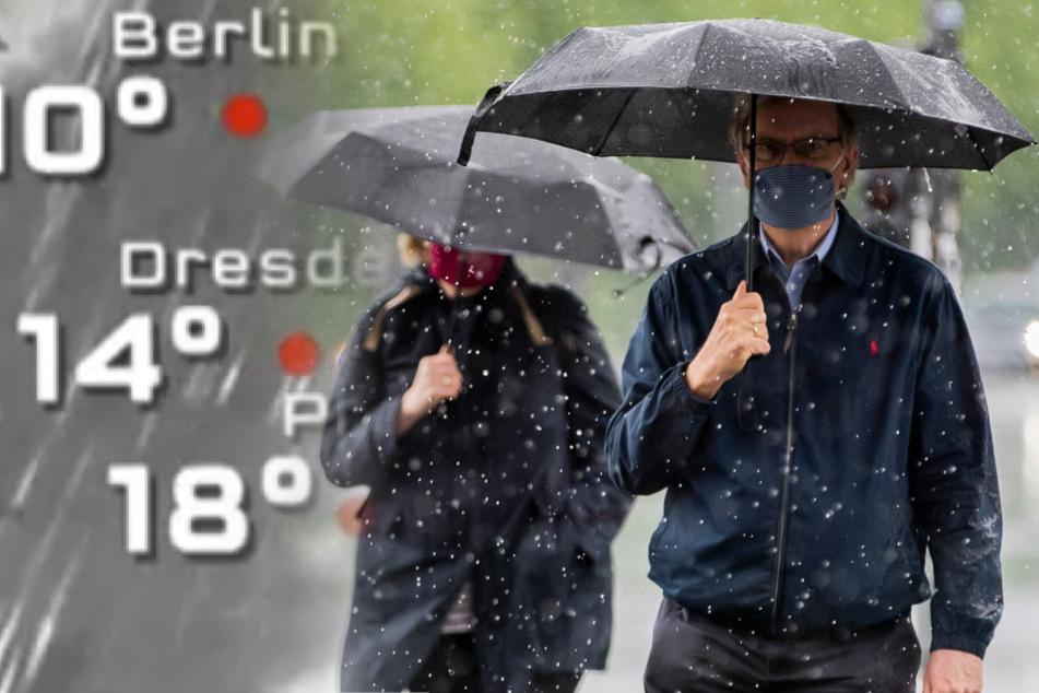 Vorbei mit Sonnenschein in Berlin: Die Eisheiligen sind da!
