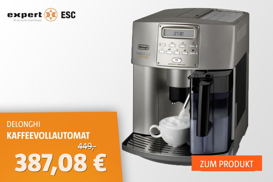DELONGHI ESAM 3500 Kaffeevollautomat für 387,08 statt 449 Euro