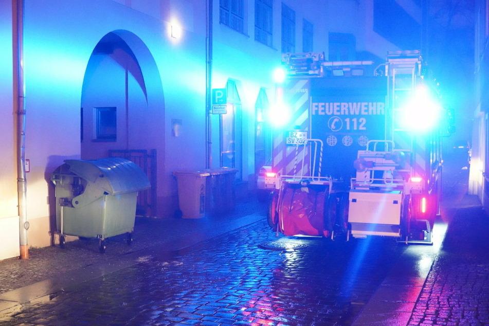 Und auch in der Hinteren Reichenstraße wurde gezündelt.