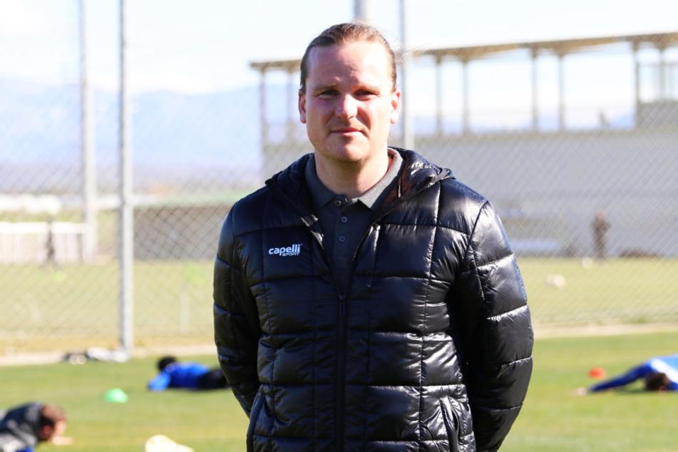 Sportdirektor Rocco Teichmann (34) ist seit dem 1. Januar 2016 für den FC Viktoria 1889 Berlin tätig.