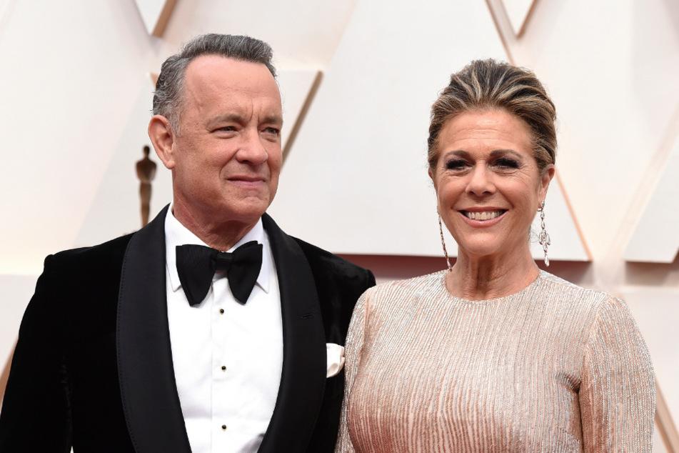 Tom Hanks (63) und seine Ehefrau Rita Wilson (63).