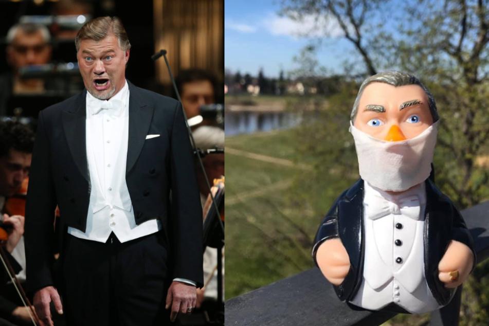Der Opernstar René Pape postete ironische Grüße an seine Fans.