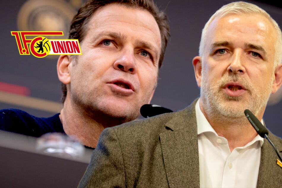 """Union-Boss Dirk Zingler kritisiert DFB und Oliver Bierhoff: """"Totale Fehlentwicklung"""""""