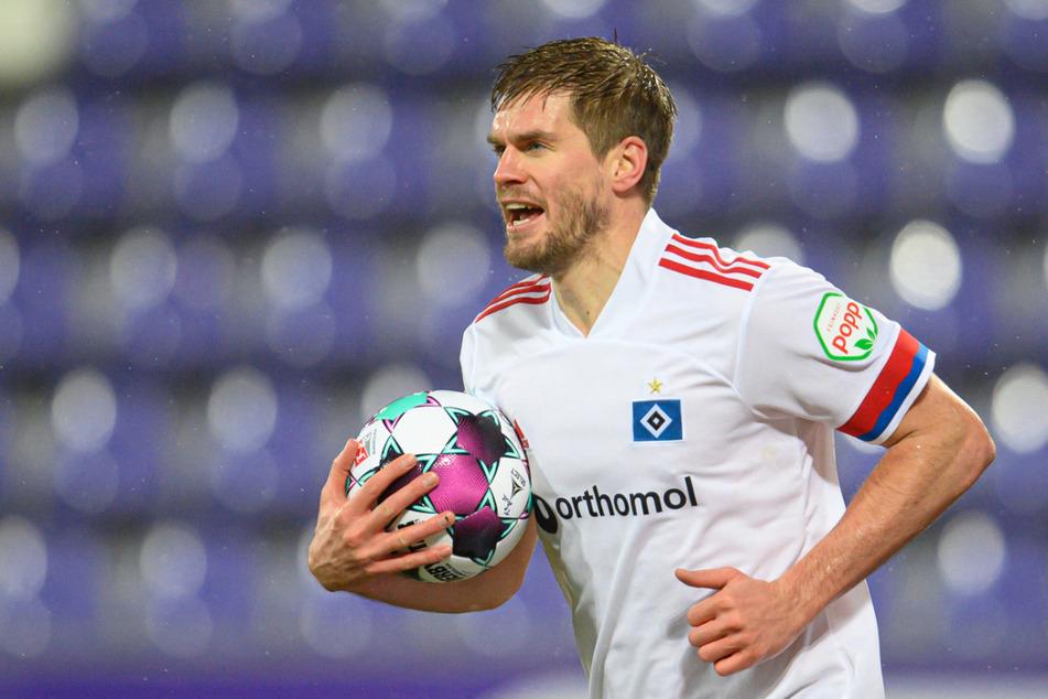 Simon Terodde (32) führt die Torjägerliste der 2. Bundesliga mit 19 Treffern an.