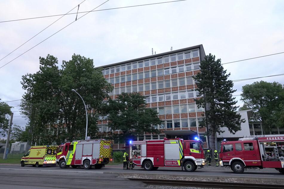 Brand in Chemnitzer Asylunterkunft: Zwei Bewohner im Krankenhaus