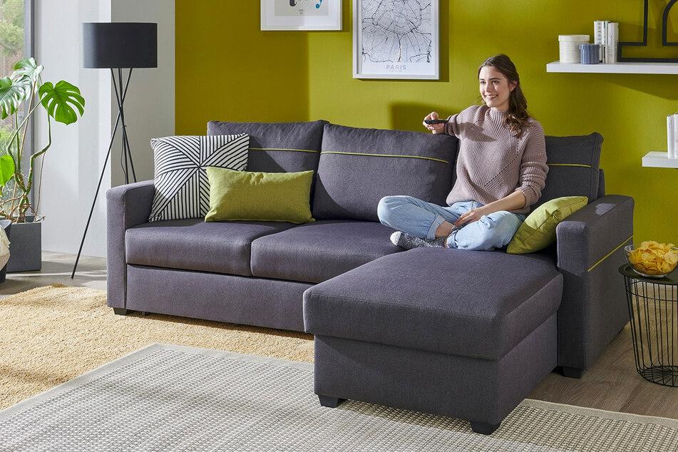 Dieses grosse Sofa bekommt Ihr bei Sconto für nur 499 Euro
