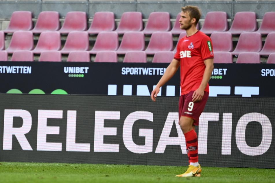 Sebastian Andersson (29) hat weiterhin mit Knie-Problemen zu kämpfen. Es ist fraglich, ob der Stürmer dem 1. FC Köln zur Verfügung stehen wird.