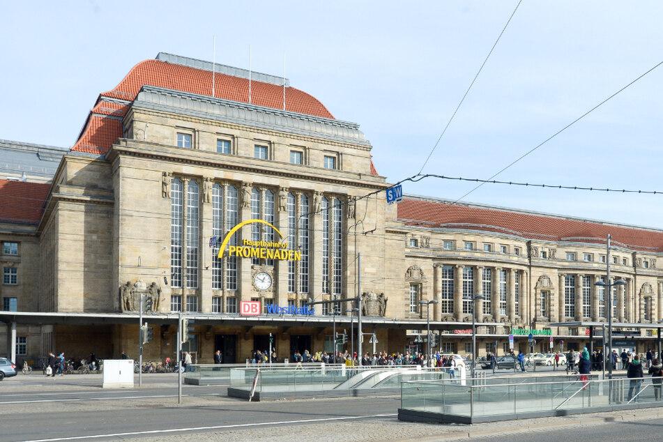 Im Leipziger Hauptbahnhof wurde ein 33 Jahre alter Mann festgenommen. Er hatte mehr als 4 Promille intus. (Archivbild)