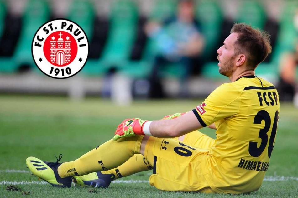 Ex-St.-Pauli-Keeper Robin Himmelmann (32) hat einen neuen Verein gefunden. (Archivbild)