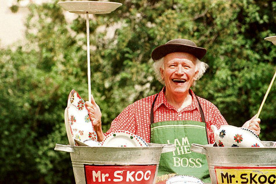 Scherben brachten ihm Glück: Leipziger Jonglage-Legende Mr. Skoc wäre heute 100 Jahre alt geworden