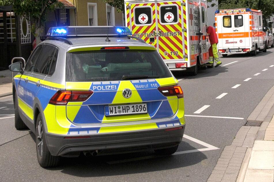 Der Unfall ereignete sich am Sonntag gegen 13 Uhr in Bensheim-Auerbach in Südhessen.