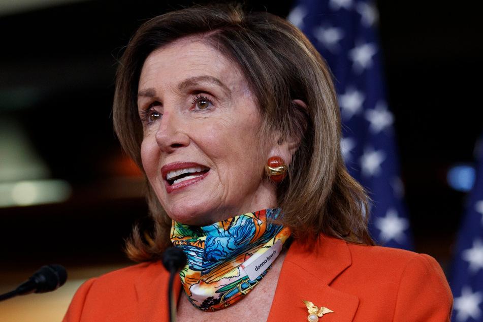 Nancy Pelosi (80), Sprecherin des US-Repräsentantenhauses.