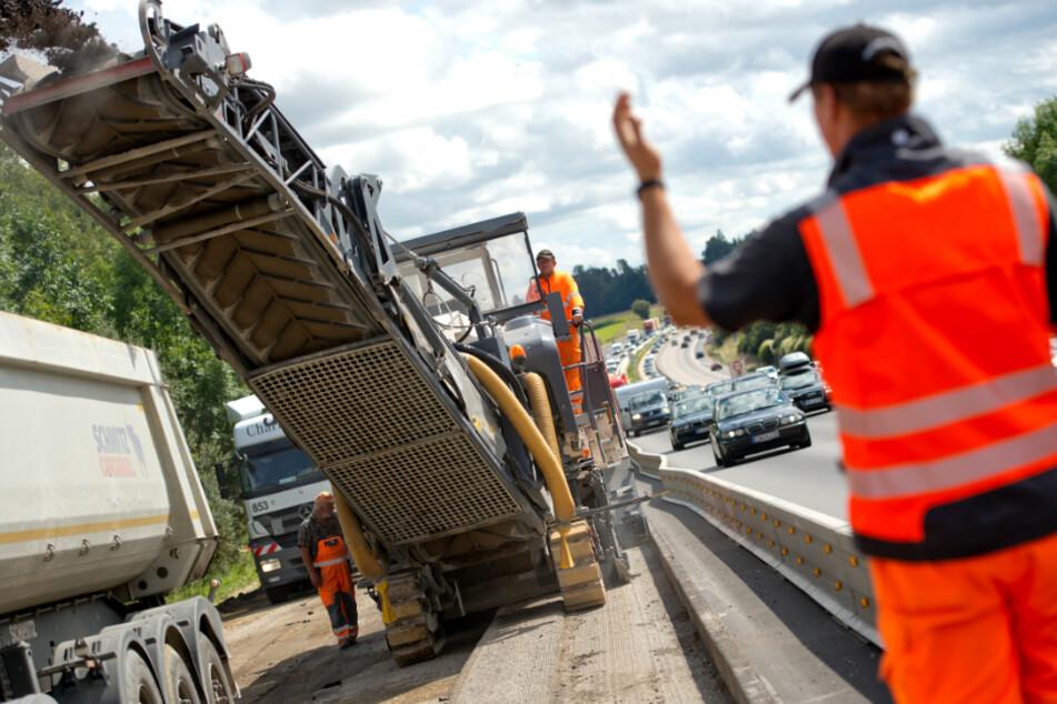 Baustellen-Chaos 2021: Hier wird es wieder eng für Autofahrer in Bayern
