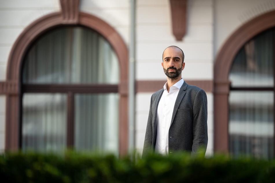 Dr. Cihan Celik (35) ist Lungenexperte am Klinikum im südhessischen Darmstadt.