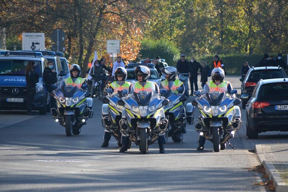 Die Journalisten-Union kritisiert das Verhalten der Polizei.