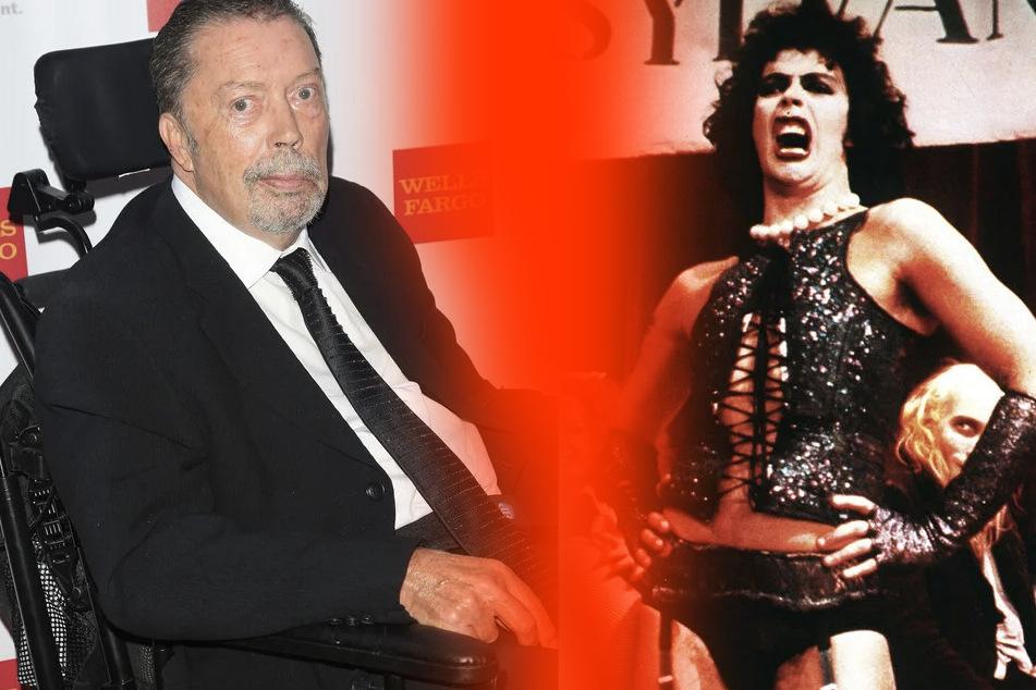 """Kultstar der """"Rocky Horror Picture Show"""": Tim Curry (75) nach Schlaganfall im Rollstuhl"""