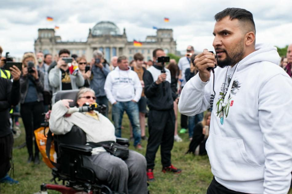 Anti-Corona-Demonstranten in Berlin geht die Puste aus: Nur noch geringer Zulauf