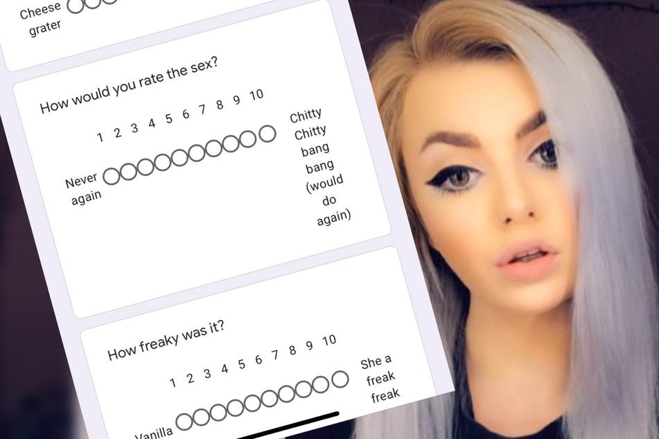 23-Jährige lässt sich nach One-Night-Stand mit Sex-Umfrage bewerten