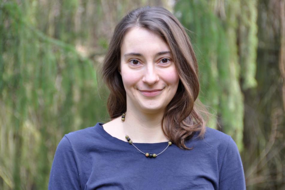 Carolin Werthschütz (35) vom Sachsenforst freut sich über die vielen Patenschaften.