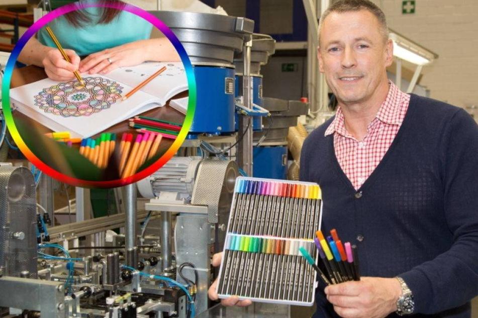 Malbuch-Boom: Überstunden für Edding-Hersteller