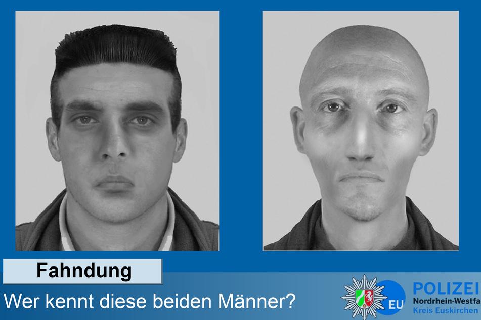 Die Polizei in Euskirchen ist seit März 2020 auf der Suche nach den beiden Tätern.